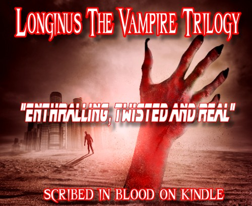 Longinus the Vampire Book Trilogy 13