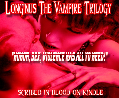 Longinus the Vampire Book Trilogy 14